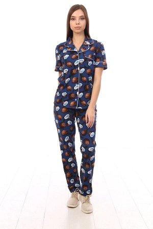 """Пижама с коротким рукавом """"Кокос"""""""