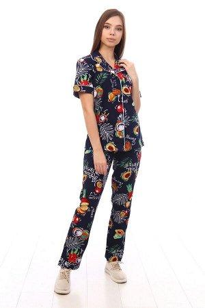 """Пижама с коротким рукавом """"Тропики"""""""