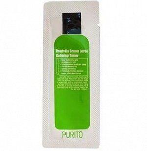 Успокаивающий тонер для лица Purito Centella Green Level Calming Toner