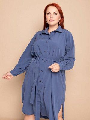 Платье 100% пэ (ниагара) Платье рубашка с поясом Цена: 1845 руб. Пристрой участника:  89157563129 (звонить после 14 час по Москве)