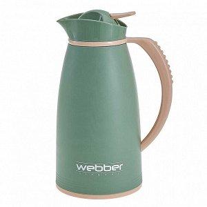 Термос-кувшин 1 л Webber 31004/13S серо-зеленый