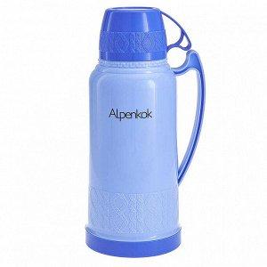 Термос 1,8 л Alpenkok AK-18021S синий