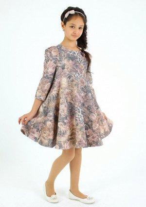 Платье Количество в упаковке: 1; Артикул: СС-ПЛ-6804; Цвет: РазноцветныйСкачать таблицу размеров                                                Нарядное платье из фактурногожаккарда&