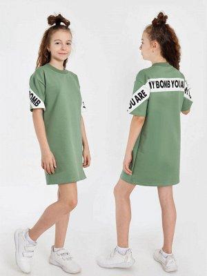 """Платье """"Селеста-2"""" с шелкографией"""