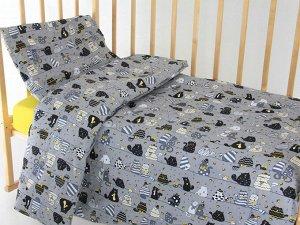 """Комплект постельного белья """"Коты"""" Ясли"""