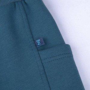 Брюки ДМ Количество в упаковке: 1; Артикул: BN-495З20-462; Цвет: Голубой; Ткань: Футер 3-х нитка, начес; Состав: 100% Хлопок; Цвет: Морская волна Скачать таблицу размеров