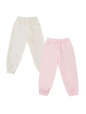 Набор из 2х  ясельных штанишек для девочек