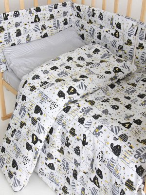 """Набор в кроватку """"Коты"""""""