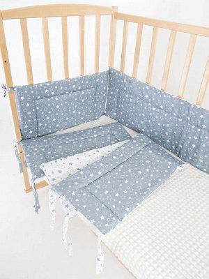 """Бортик в кроватку """"Звездное небо"""""""