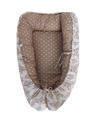 Кокон-гнездышко со съемным чехлом
