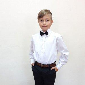 Сорочка для мальчика с бабочкой