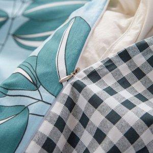 Комплект постельного белья Люкс-Сатин на резинке AR196