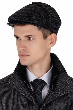 Кепка Сезон зимние. Модель кепка реглант. Цвет серый. Состав шерсть-72%, полиамид-28%. Бренд Svyatnyh