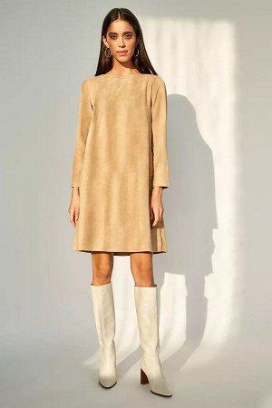 Платье              38.М1-20-2-0-00-2919-2-бежевый