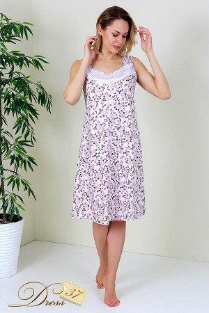 Сорочка женская «Панорама» розовая