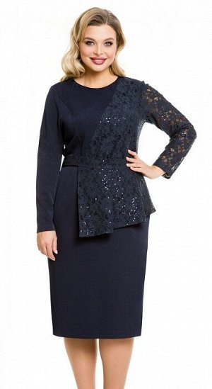 Платье 1100 темно-синий