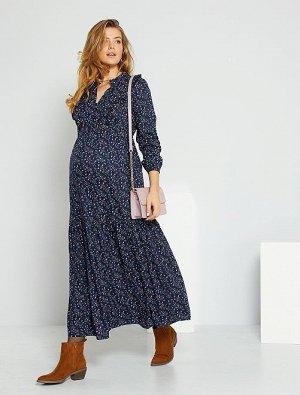 Длинное платье для беременных