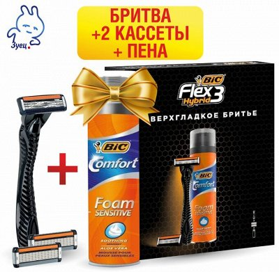 Подарочные наборы для бритья — Gillette и BIC наборы защитникам! — По типу