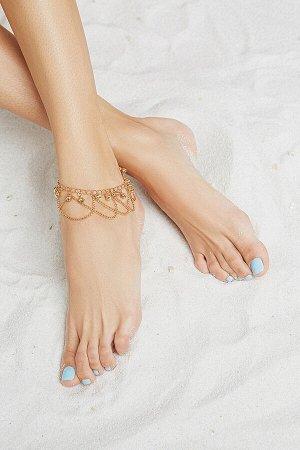 "Браслет на ногу ""Стамбульская красавица"" #203842"