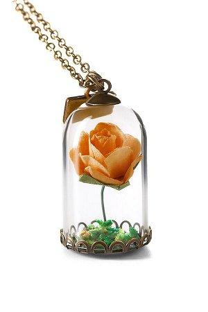 Колье Капризная Роза #189146