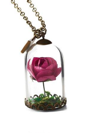 Колье Капризная Роза #188916