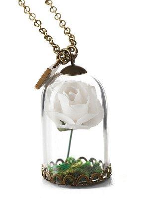 Колье Капризная Роза #188543