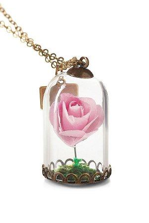 Колье Капризная Роза #187325