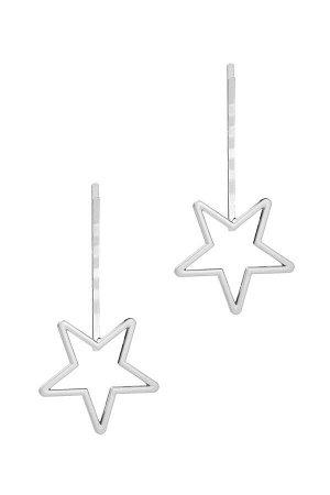 Набор 2 шт. заколки невидимки Звезды смотрят вниз #195523