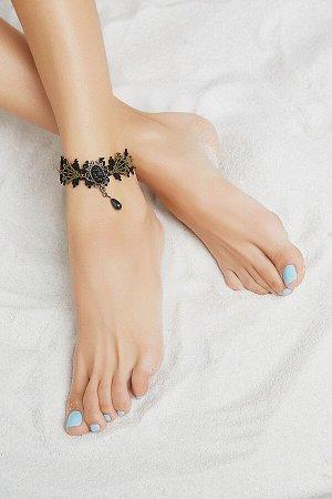 """Браслет на ногу """"Викторианская эпоха"""" #193618"""