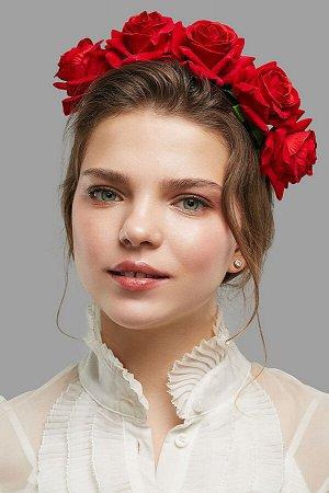 Ободок с розами Изысканность королевы #258801