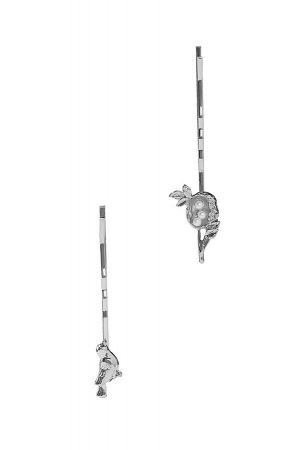 Набор 2 шт. заколки невидимки Птица за птицей #189346