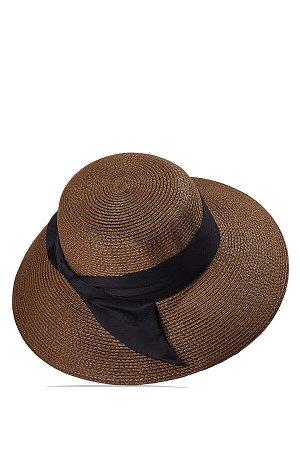 """Плетеная шляпа """"Спящая красавица"""" #247388"""