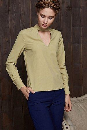 Блузка с v-образным вырезом #195177