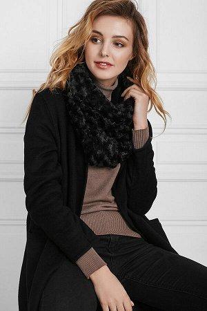 Меховый шарф Холодный город #196533