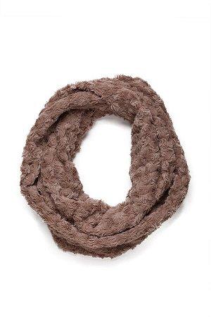 Меховый шарф Холодный город #196332