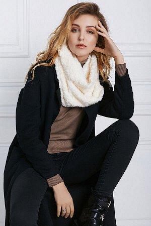 Меховый шарф Холодный город #196181