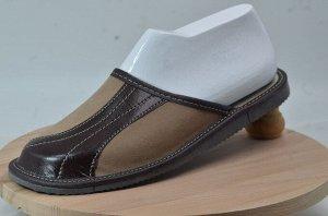 Обувь домашняя (Тапочки замшевые)