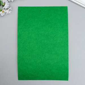 """Фетр жесткий 2 мм """"Палитра зелёного"""" набор 10 листов формат А4"""