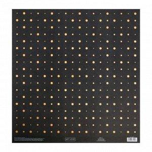 """Набор бумаги для скрапбукинга """"Звездная ночь"""", 10 листов, 30,5 х 30,5 см"""