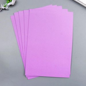 "Фоамиран ""Пурпурный"" набор 10 листов, формат А4, 1 мм"