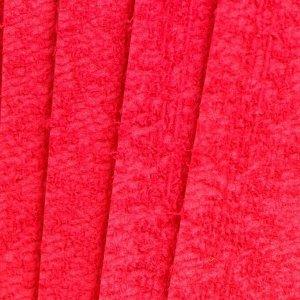 """Фоамиран махровый """"Красный"""" 2 мм (набор 5 листов) формат А4"""