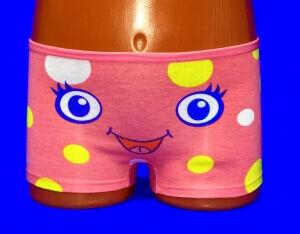 Детские трусы для девочек COOL KID арт. 8485   шортиками