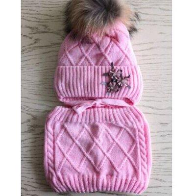 Детская одежда, обувь, аксессуары! — Зимние шапки + снуды для девочек. Россия. — Шапки