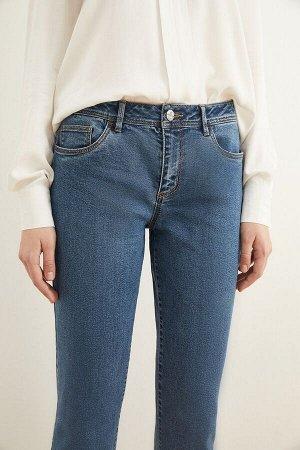 Брюки джинсовые жен. HASSIUM1_AW20 синий