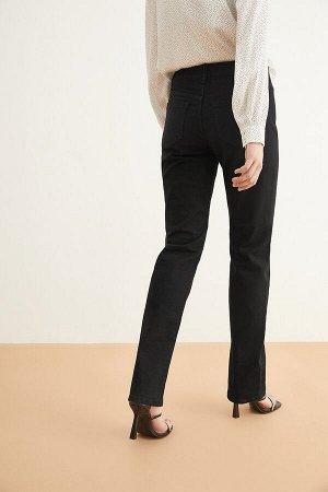 Брюки джинсовые жен. HASSIUM1_AW20 черный