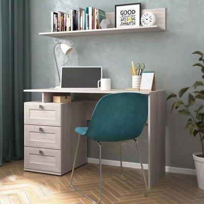 Диваны. Яркие, удобные, не дорогие — Рабочее место.  Столы от 2165 руб — Шкафы, стеллажи и полки