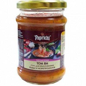Соус Папричи 250гр Основа для супа Том ям ст.б.1х6