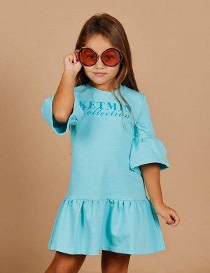 Платье для девочки KETMIN Collection цв.Мята