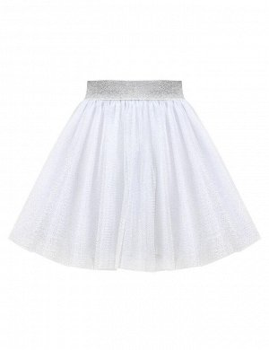 Детская юбка Miss KETMIN Мерцающее серебро