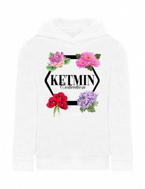 Толстовка детская с капюшоном KETMIN Collection цв.Белый